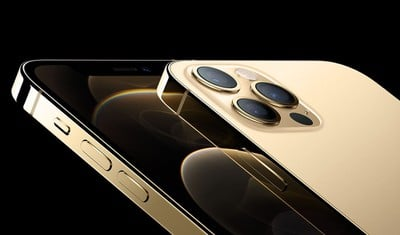 iphone 12 pour l'or