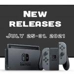 Vente au détail et téléchargement de jeux Nintendo Switch pour la semaine du 25 juillet 2021