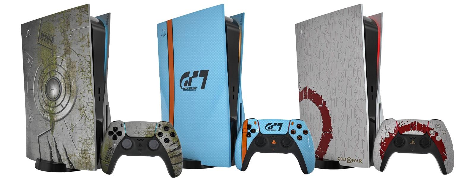 Rendu PS5 en édition limitée - Horizon Forbidden West - Gran Turismo 7 - God Of War