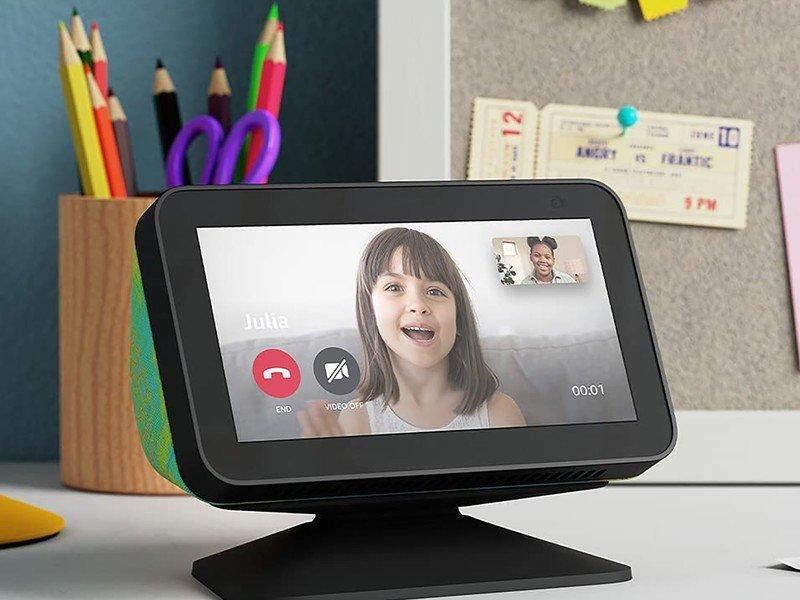 Appel vidéo Amazon Echo Show 5 pour enfants