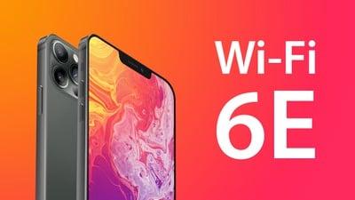 Mise à jour des fonctionnalités de l'iPhone 13 Wi Fi 6E