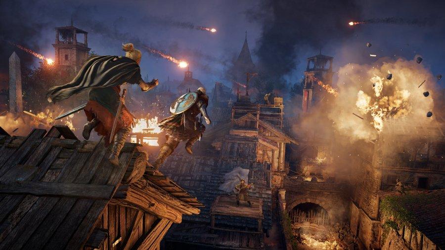 Assassin's Creed Valhalla : Critique du siège de Paris - Capture d'écran 2 sur 3