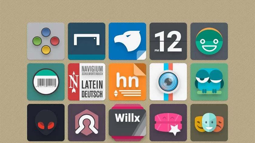 Indigo Madina - Meilleurs packs d'icônes pour Android
