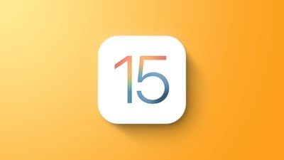 iOS 15 Fonctionnalité générale Jaune
