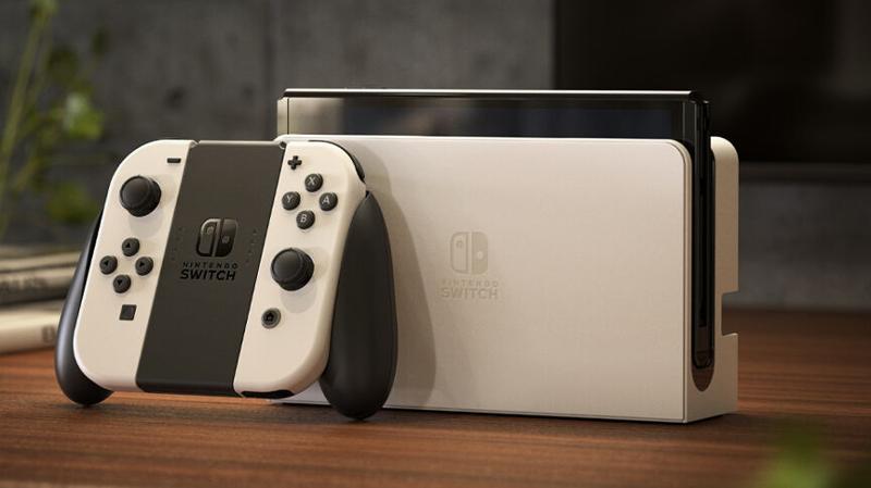 Base blanche pour commutateur Nintendo