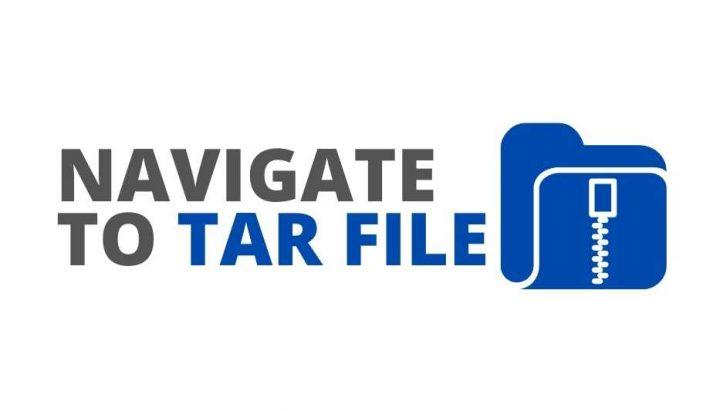 Ouvrir le fichier TAR sur Android
