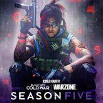 La cinquième saison de Black Ops, Cold War et Warzone sort le 12 août - PS5