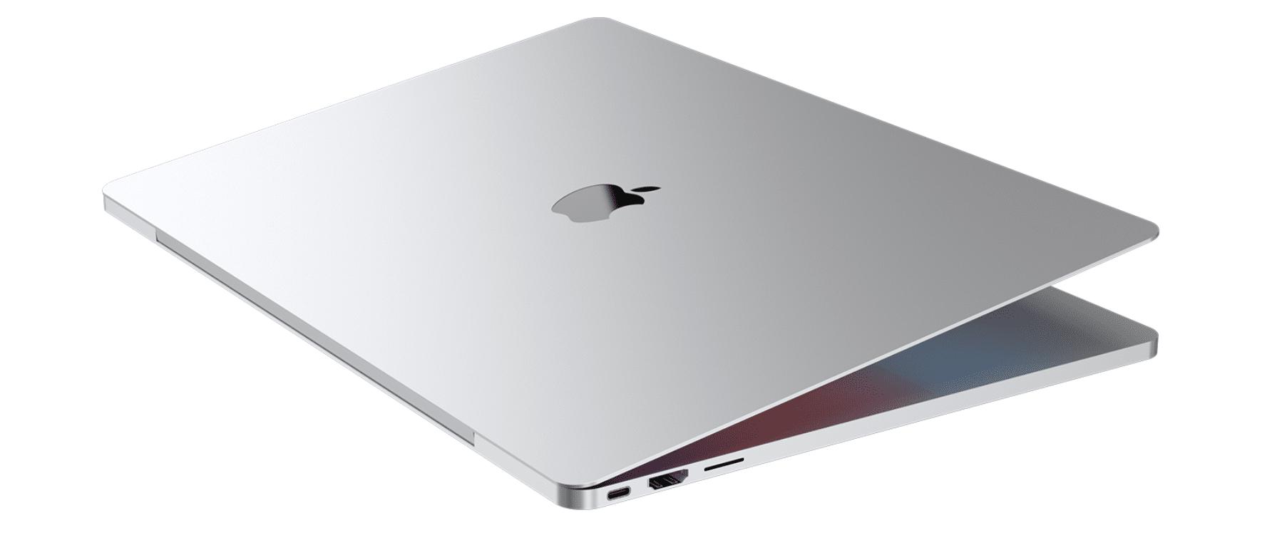 Macbook Pro 2021 m1x redessiné