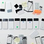 Google montre les différents prototypes Pixel 2 et Pixelbook