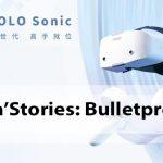 """""""Guns'n'Stories: Bulletproof VR"""" - l'un des premiers jeux pour le casque NOLO Sonic All-in-One VR."""