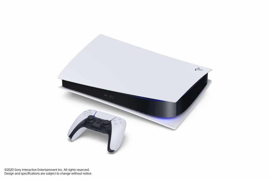 PlayStation 5 PS5 posée