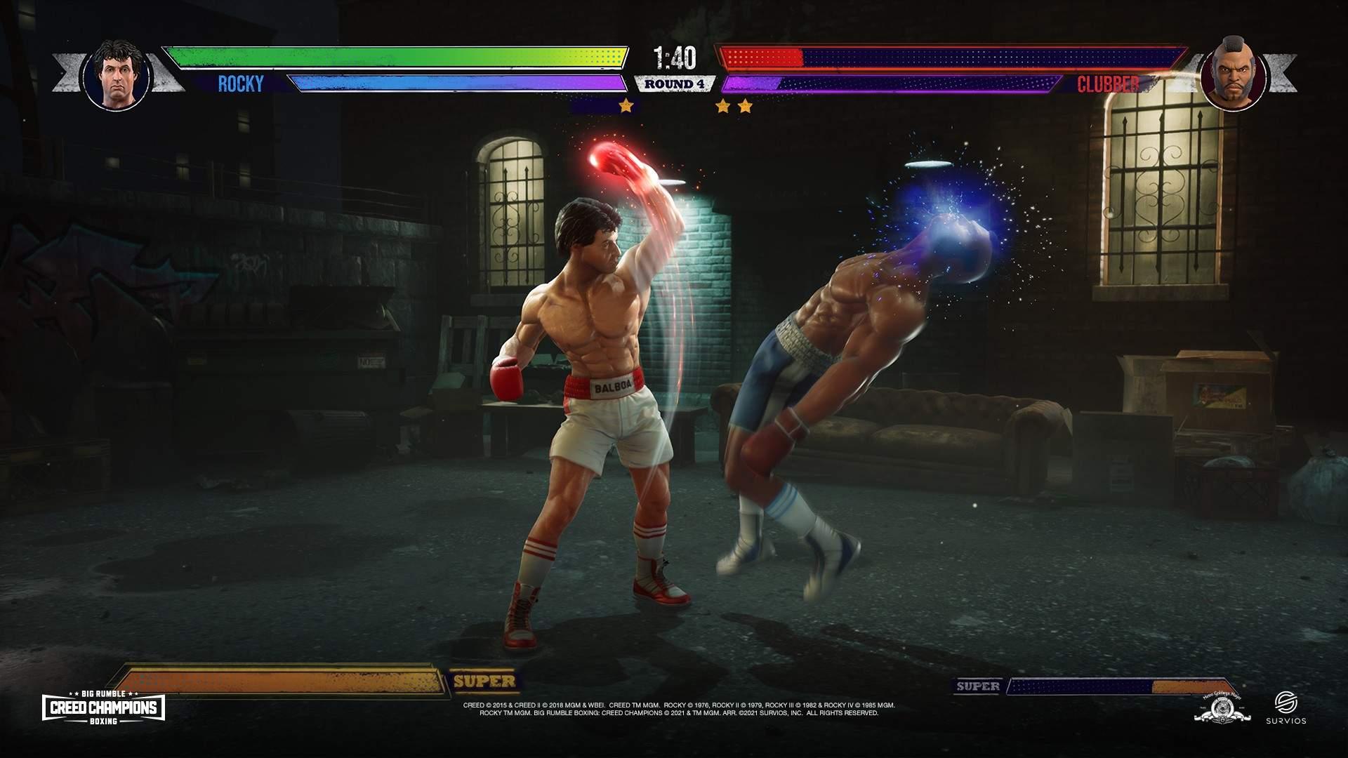 Big Rumble Boxing : Champions du Credo