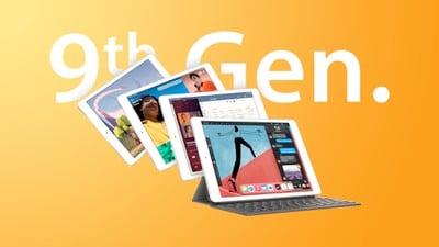 Fonctionnalité iPad 9e génération