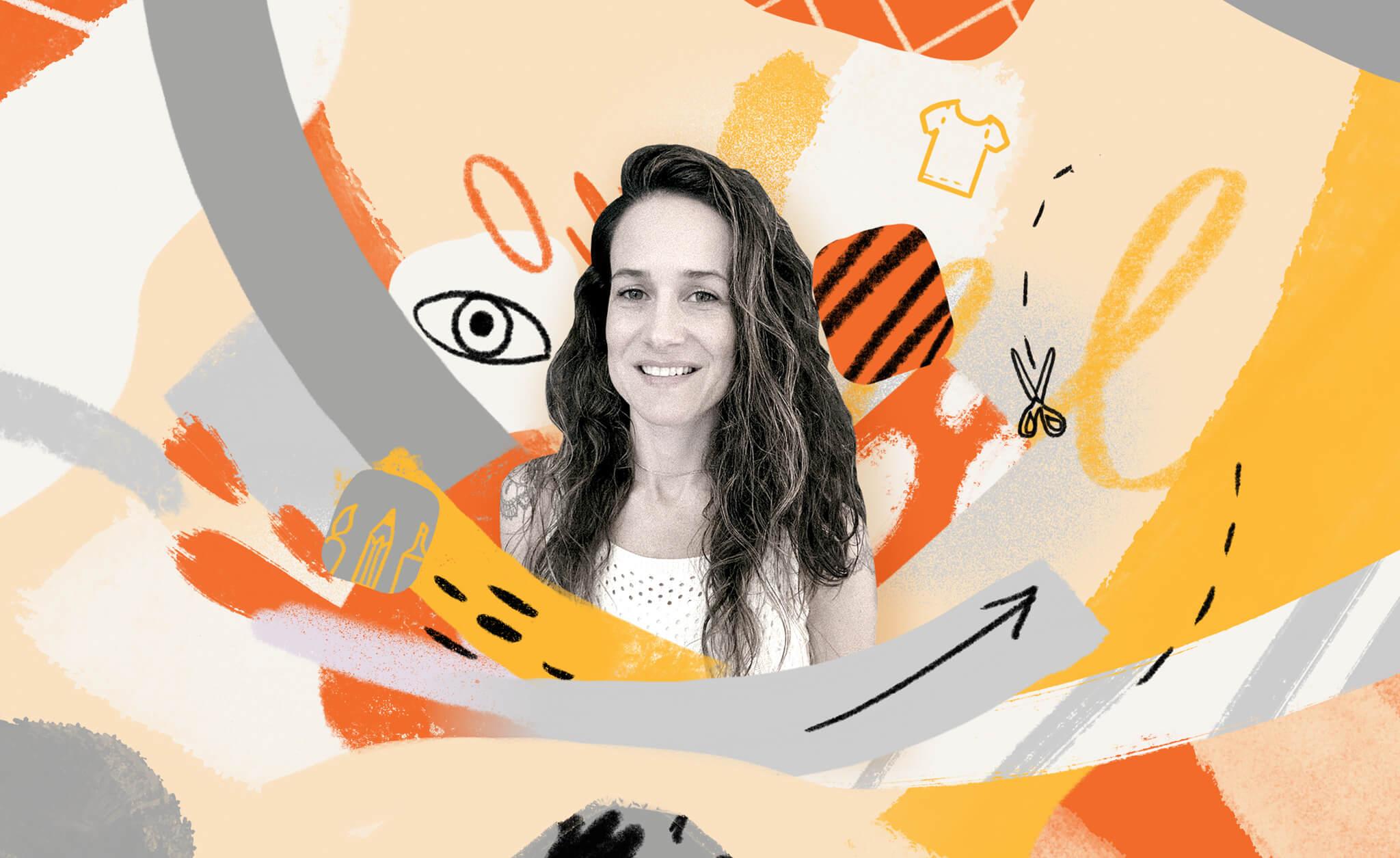Photo du développeur Prêt-à-Template dans un collage.
