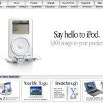 Aujourd'hui marque le 20e anniversaire du lancement de l'iPod par Steve Jobs